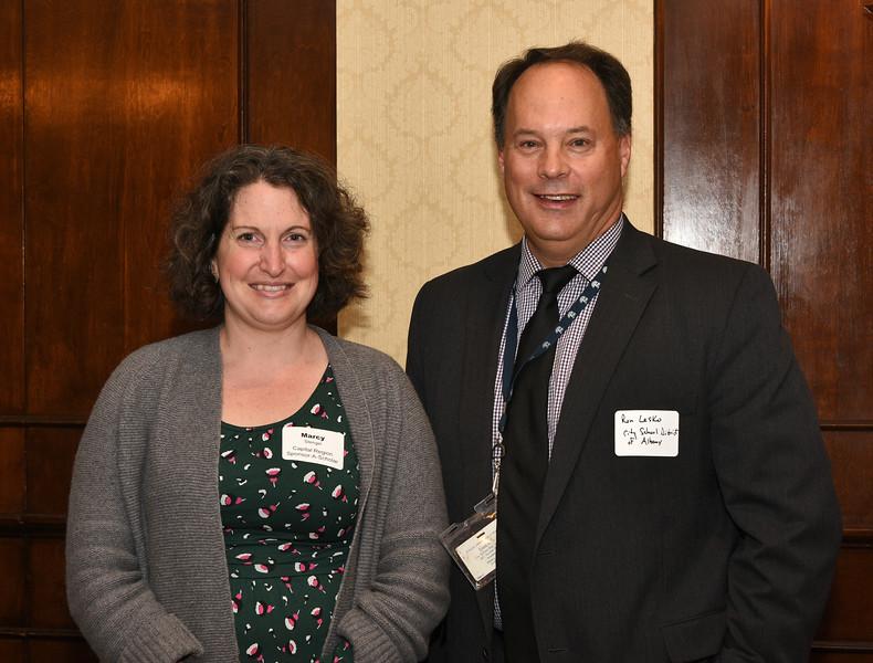 Marcy Stengel and Ron Lesko