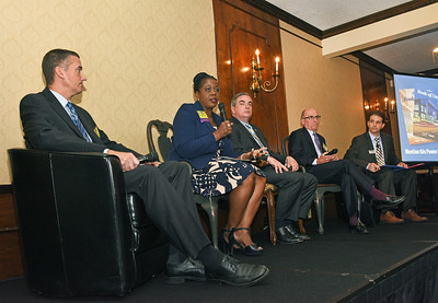 Bill Strang, Member, Troy Board of Education; Owner, Make-Steam;  Kaweeda G. Adams, Superintendent , City School District of Albany;  Gary McCarthy, Mayor, City of Schenectady;  Ronald Dunn, Partner, Gleason Dunn Walsh & O'Shea; Board Member, Albany Fund for Education; Founding Member, Albany Booster Club;  Moderator and senior reporter Michael DeMasi