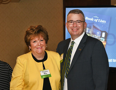 Paula Stopera, CEO of CAP COM Federal Credit Union and Rob Roemer