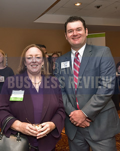 Janice O'Keeffe from Citizens Bank and Adam Cooper from Carter Conboy