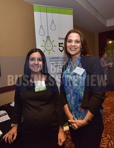 Maria Pidgeon from Innovate 518, left, and Heidi Pasos from Empire State Development