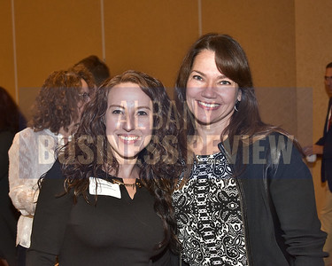 Melissa Clark from the Carpenter Contractor Trust and Lauren Payne from Spiral Design