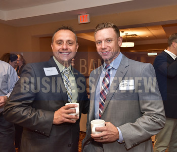 Vincent Miles from KeyBank, left, and Mike Testa from the Tarella Financial Group