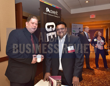 Dan Dinsmore from Overit and panelist Vikram Agrawal