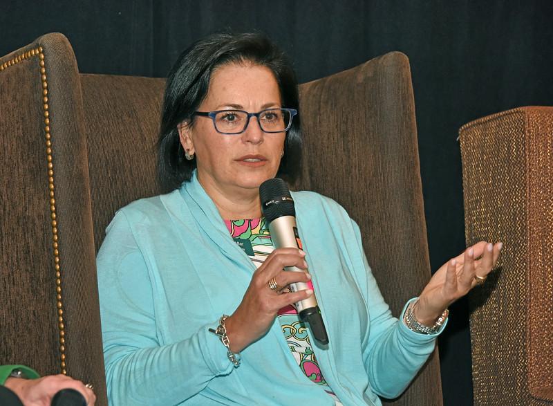 panelist Ann MacAffer, associate broker with CBRE-Albany