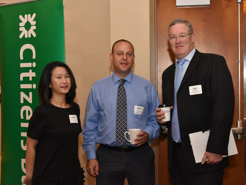 Juvena Ng, Jeffrey Wojtowicz and Keith Cunningham