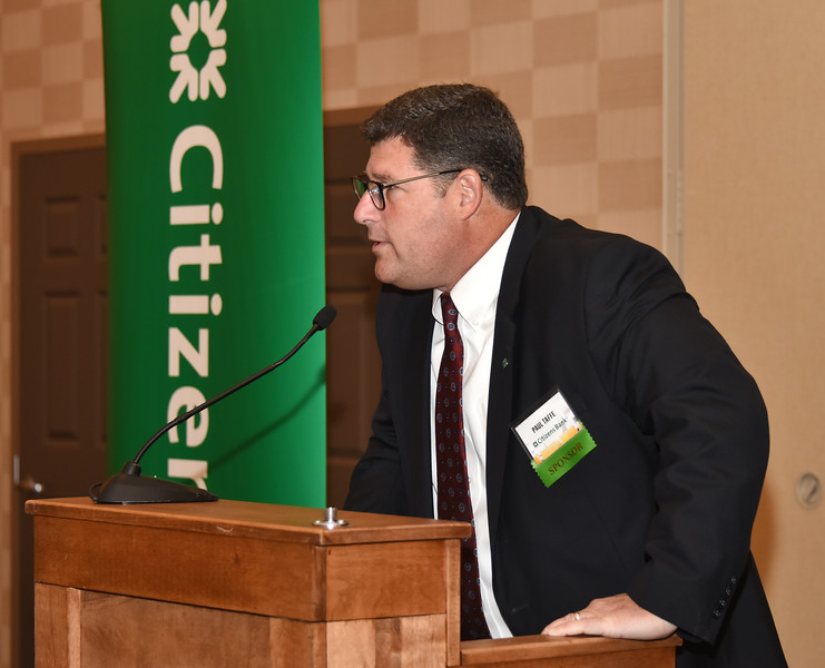 Paul Taffe, New York president at sponsor Citizens Bank.