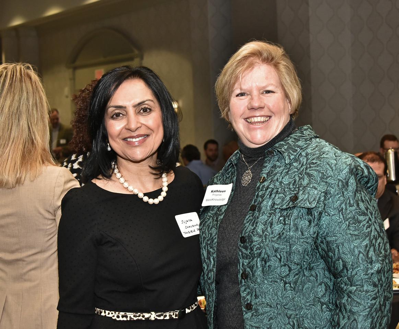 Sujata Chaudhry and Kathleen Pingelski