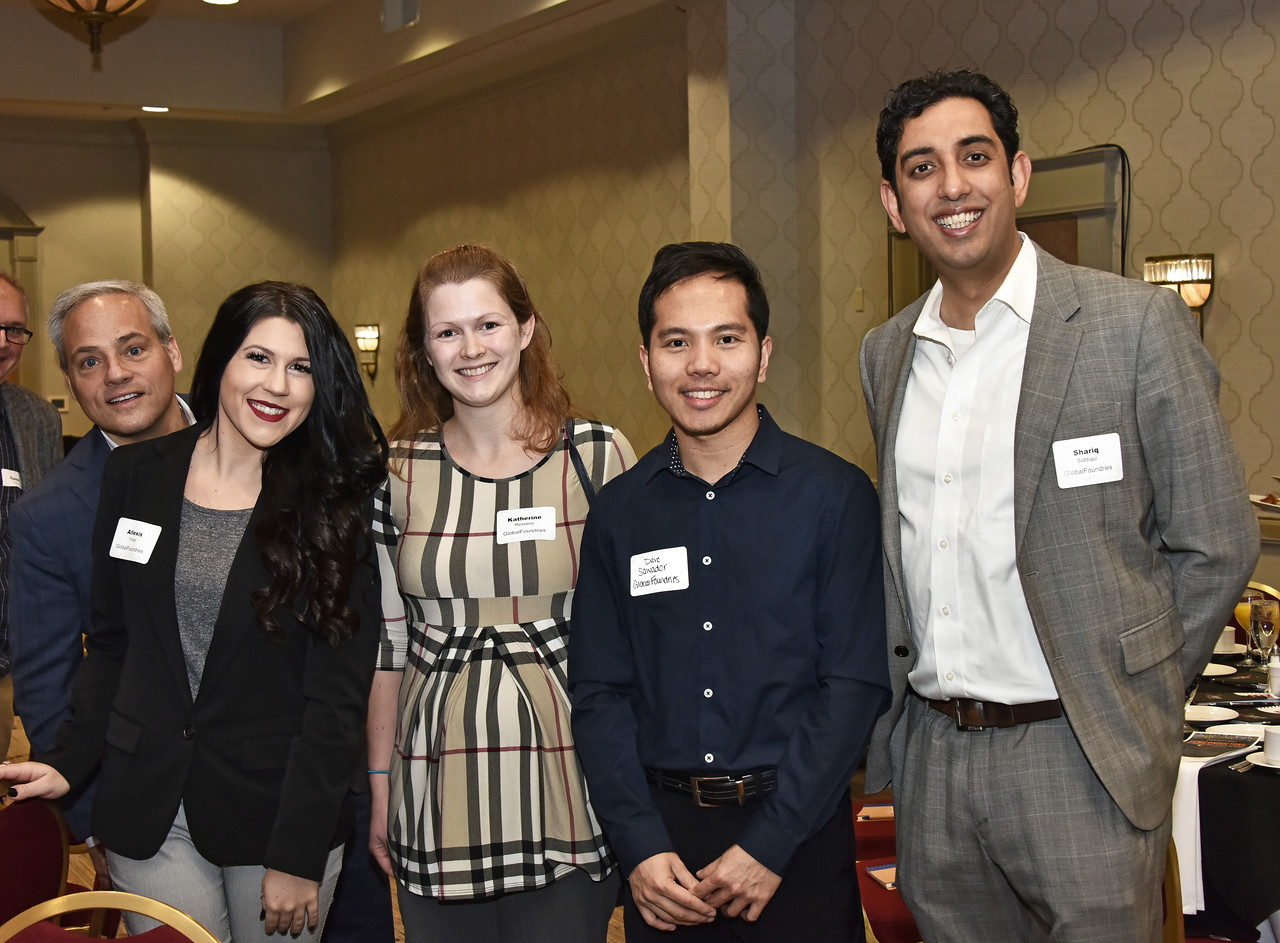 Dr. Thomas Caulfield, Allexis Frost, Katherine Restaino, Dave Salvador and Shariq Siddiqui