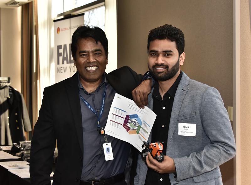 D P Prakash and Nikhil Buddi