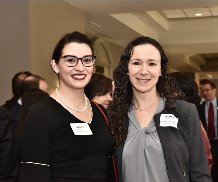 Kelsey Knutsen and Heather Schechter
