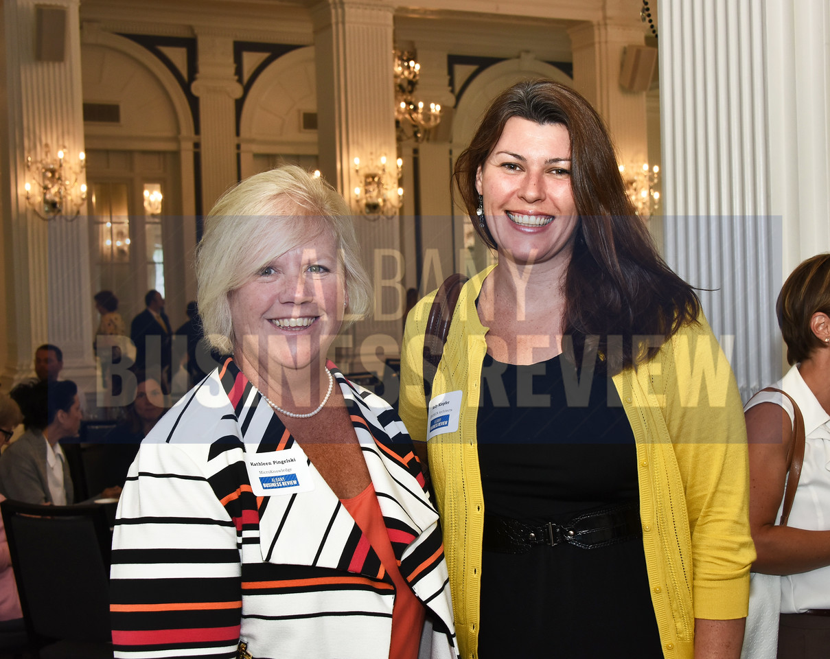 Kathleen Pingelski from MicroKnowledge and Kelly Klopfer from Envision Architects.