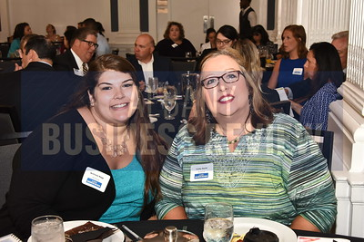 Brittany Rapp and Cathy Smith from the SI Group.