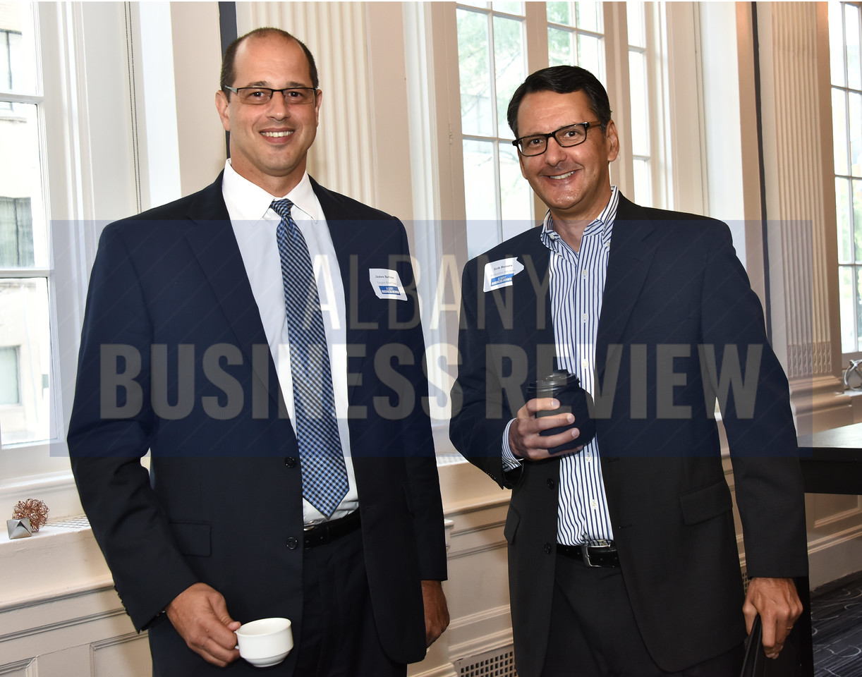 James Bartone from Empire BlueCross and Erik Bunaes from Endorphin Advisors