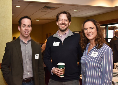 Brett Balzer, Shawn Corp and Georgeanna Nugent