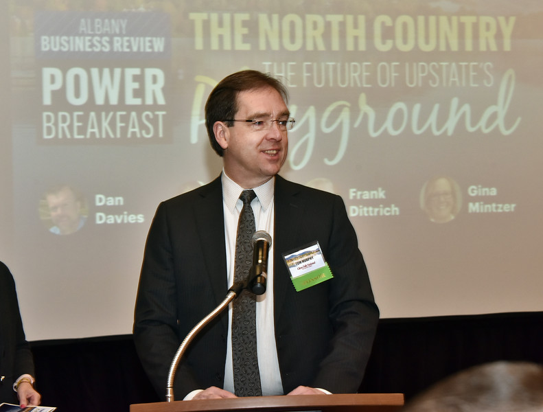 Tom Murphy, president and CEO of Glens Falls National Bank and Trust Company