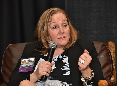 Panelist Gina Mintzer, Executive Director of the Lake George Regional Chamber of Commerce & Convention and Visitors Bureau