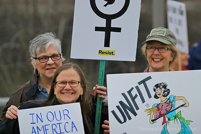 Power Together Tennessee Women's March in Nashville 1/21/17