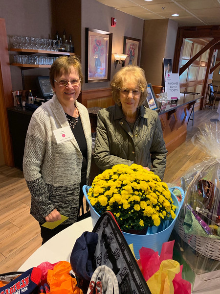 Judy Colburne of North Reading and Joan Barron of Malden