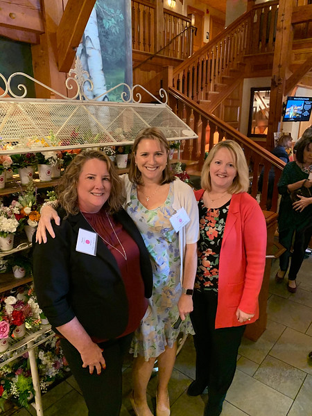 From left, Maura McGilvery of Lowell, Dracut Selectman Alison Hughes and Kate Dame of Pelham
