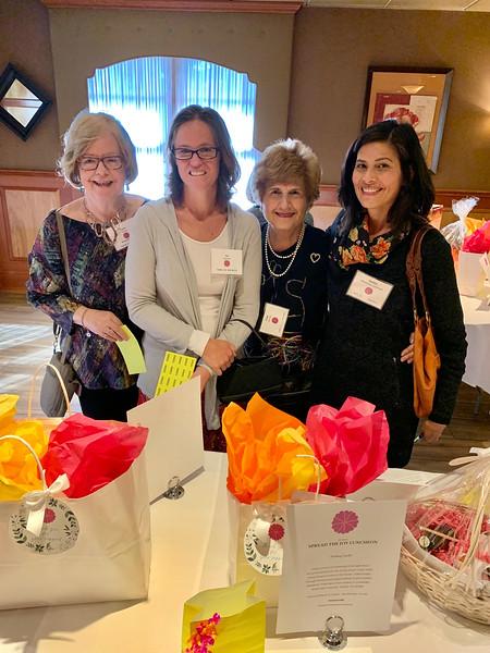 From left, Joyce Tilton and Joy Sigona of Carlisle, Esta Lavigne of Lexington and Kathleen Aeschliman of Carlisle
