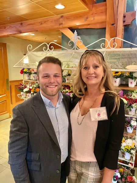 Matt Durkin of Boston and Andrea DeCicco of Billerica