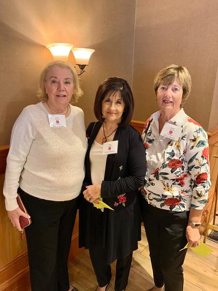 From left, Janice Zafarana of Andover, Rita Damigella of Topsfield and Ginny Morrison of Salem, N.H.