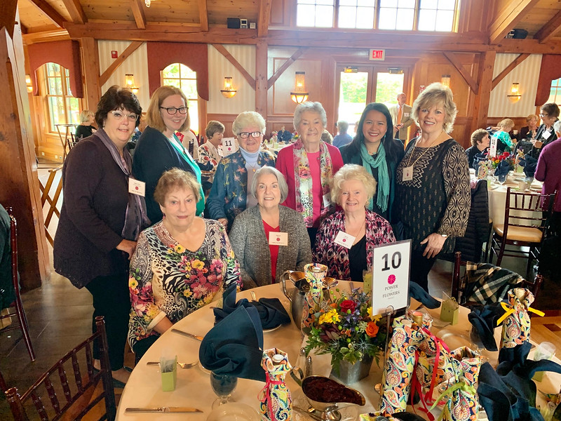 Marie Sweeney, front far right, and her Tewksbury divas