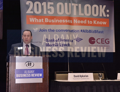 1-29-2015, Economic Outlook Power Breakfast. sponsor Frederick Gomez, Bank of America/Merrill Lynch