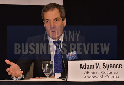 1-29-2015, Economic Outlook Power Breakfast.  Adam Spence, assistant secretary for economic development and innovation for the Office of Gov. Andrew Cuomo.