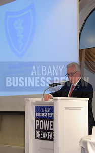 4-24-2015, Albany Business Review's Health Care Power Breakfast.  Dr. Kirk Panneton, regional executive and medical director with sponsor BlueShield Northeastern NY.