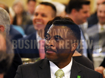 4-24-2015, Albany Business Review's Health Care Power Breakfast. Cedric Carter of TD Bank.