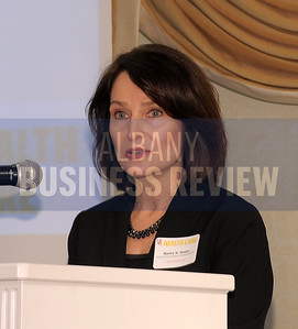 4-24-2015, Albany Business Review's Health Care Power Breakfast.  Karen Sosler, partner with sponsor Iseman Cunningham Reister & Hyde.