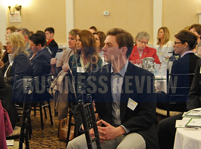 4-24-2015, Albany Business Review's Health Care Power Breakfast. Patrick Costello of G&K Services.