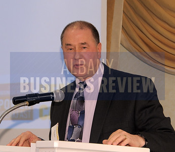 4-24-2015, Albany Business Review's Health Care Power Breakfast.  Alan Okun, CEO with sponsor OrthoNY.
