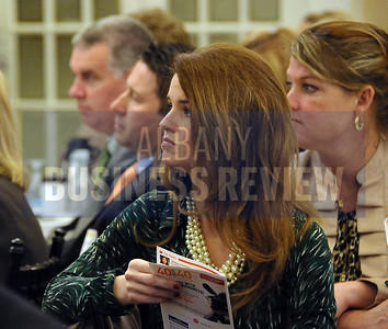 4-24-2015, Albany Business Review's Health Care Power Breakfast. Jennifer Sutliff of TD Bank.