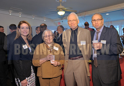 4-24-2015, Albany Business Review's Health Care Power Breakfast. left, Joan Hayner, Capital Care Medical Group; Laura Schweitzer, Union Graduate College; Emile Wolraven, Ellis Medicine; Joseph Giansante, Ellis Medicine.