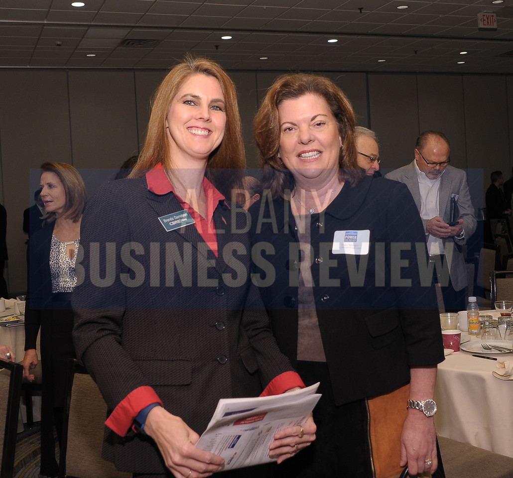 Brenda Garretson from CBRE/Albany and Tracy Metzger from TL Metzger & Associates.
