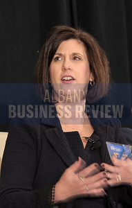 Panelist Denise Gonick, president and CEO of MVP Health Care.
