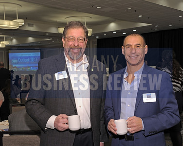 Jeff Stone of Kinderhook Bank and Richard Honen from Phillips Lytle LLP.
