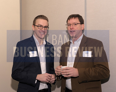 Ryan Watroba from Coldwell Banker Prime Properties and Dave Taillon from Passero Associates.