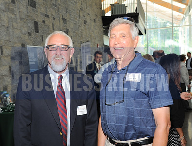 6-24-2015, Albany Business Review's Higher Education Power Breakfast.  Kenneth Facin and John Helft from Hoosick Falls Central School District