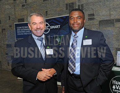 6-24-2015, Albany Business Review's Higher Education Power Breakfast.  Bob Davey and Cedric Carter from TD Bank.