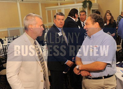 Joel Kovel of Realty USA with panelist Peter Belmonte, Jr.