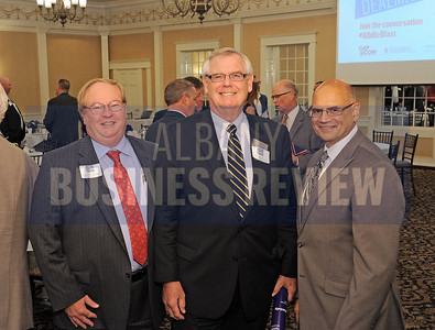 left, Jeff Jordan, Jim Conroy and RIchard Ferro from Berkshire Hathaway Blake, REALTORS