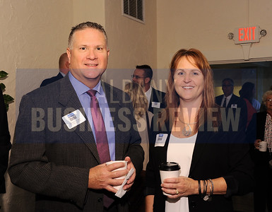 Edward Garrigan from C.T. Male Associates and Wendy Holsberger from Creighton Manning Engineering
