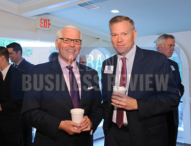 left, Bob Lazar of Teal, Becker and Chiaramonte CPA's with Scott Houghtaling from Berkshire Bank.