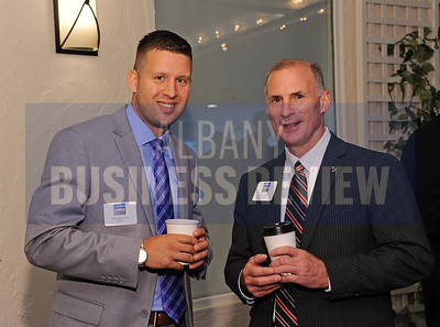 Ben Oevering from SEFCU with James Hartle of Capital Bank