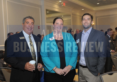 CAP COM Federal Credit Union staff, left, Tony Lanzillo, Jennifer Keigley and Brian Hooks.