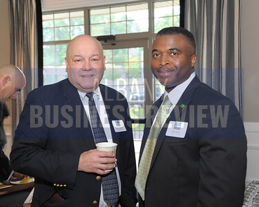Henri Langevin from Catskill Hudson Bank and Cedric Carter from TD Bank.